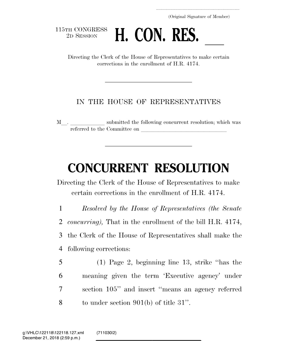 Congress votes to make open government data the default in