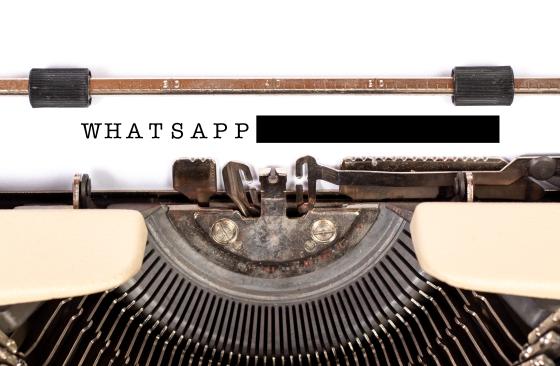 whatsapp redacted