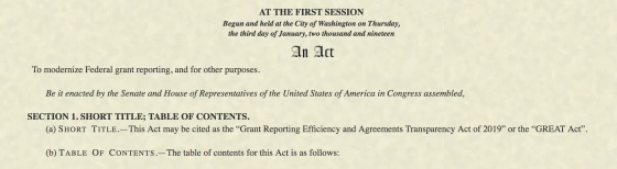 Text_-_H_R_150_-_116th_Congress__2019-2020___Grant_Reporting_Efficiency_and_Agreements_Transparency_Act_of_2019___Congress_gov___Library_of_Congress
